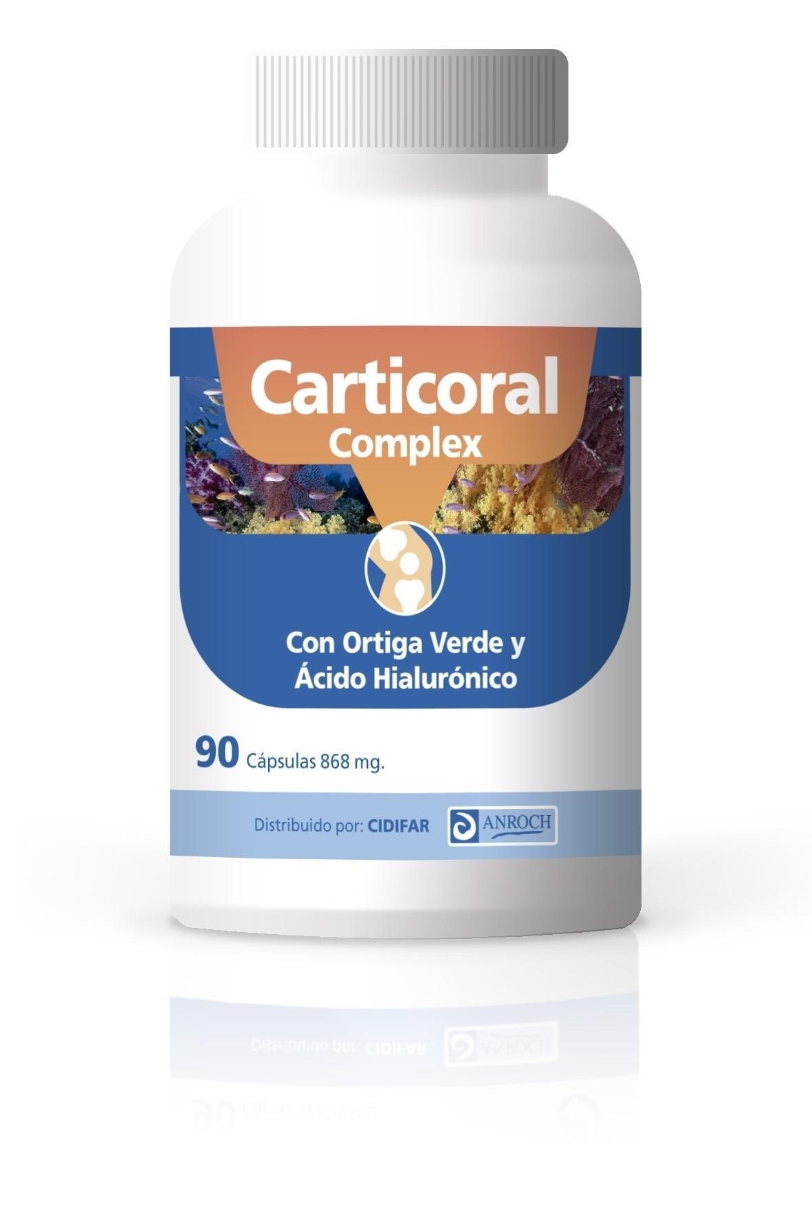CARTICORAL COMPLEX, 90 cápsulas de 868 mg.