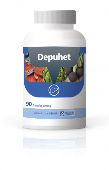 DEPUHET,  90 cápsulas de 600 mg. ¡OFERTA TEMPORAL sin gastos de envío!